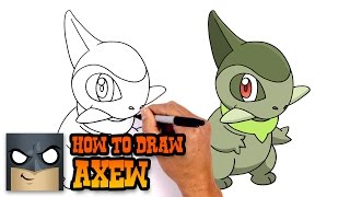 How to Draw Axew | Pokemon