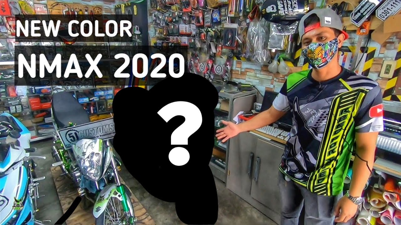 Bagong looks para sa NMAX 2020 | New color reveal