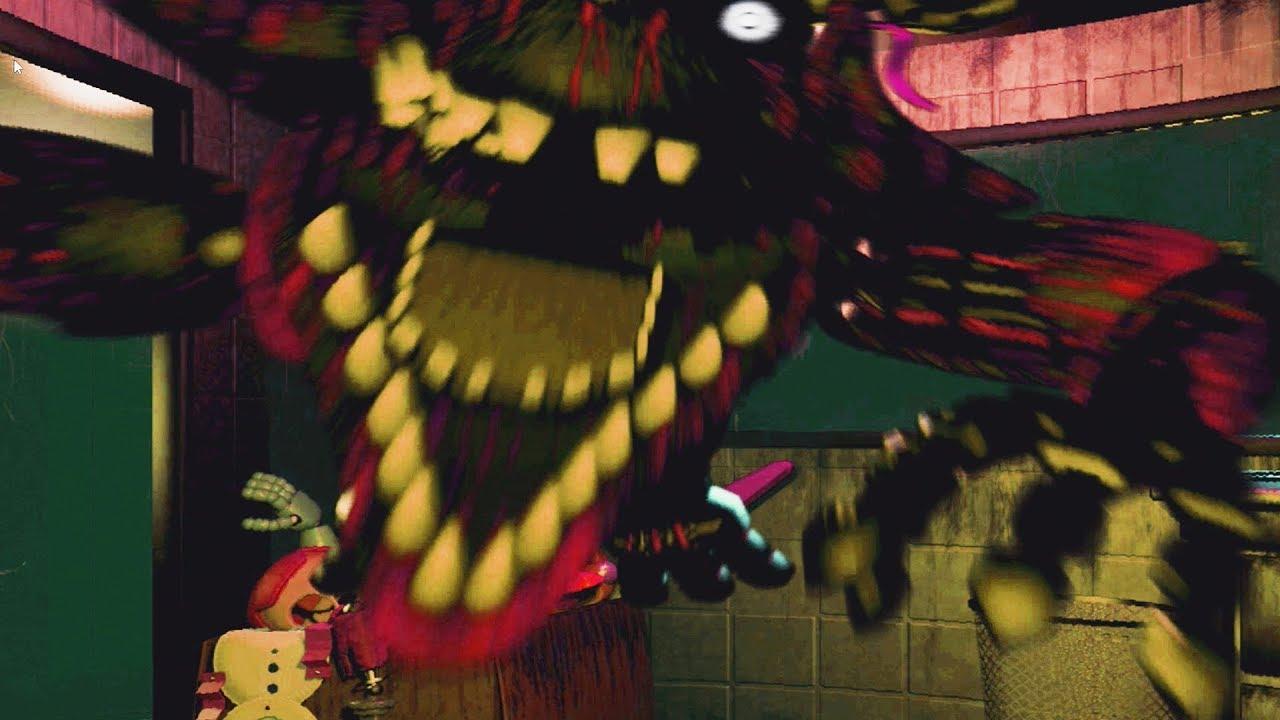 5 Nights At Foxys hauntedphantom foxy!!   five nights at freddy's 3 jumpscares (fnaf 3  part 2)