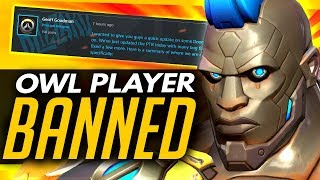 Overwatch | OW LEAGUE PLAYER BANNED + Doomfist SAVED