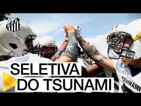 Participe da seletiva do Santos Tsunami