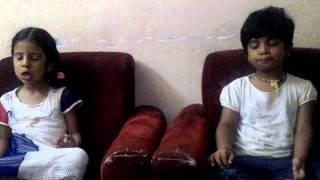 kannada sloka by children