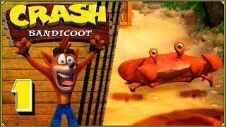 Crash Bandicoot #1 - 60 skrzynek pełnych krabów dookoła świata (jeśli wyspę można nazwać światem)