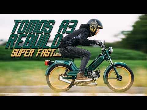 BUILDING THE FASTEST MOPED ON THE PLANET part 2 | RokON VLOG #64
