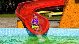 Outdoor playground fun for kids at Water Park, Head and Shoulders + more Nursery Rhymes Songs By LM