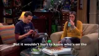 Big Bang Theory Tenure Turbulence  English Subs