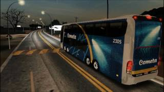 OMSI - Der Omnibussimulator - Marcopolo Paradiso G6 1800 DD 8x2 Scania K124 - Cometa