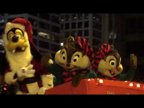 Magnificent Mile lights festival 2016 Parade Chicago - Highlights of our Day