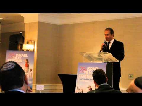 Israeli Film Festival, Sason Gabay Receives Honorary Award