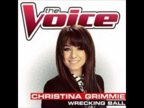 Christina Grimmie - Wrecking Ball (Full Audio)
