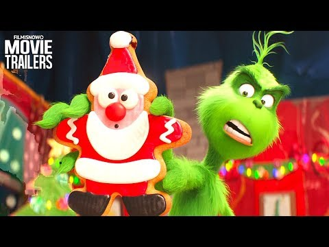 THE GRINCH 4 Clips + Trailer NEW (2018) - Dr. Seuss Animated Family Christmas Movie Mp3