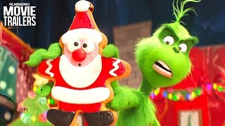 THE GRINCH 4 Clips + Trailer NEW (2018) - Dr. Seuss Animated Family Christmas Movie