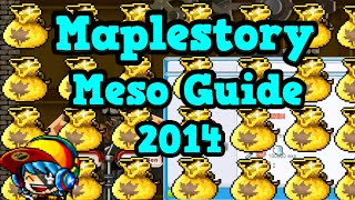 Maplestory: Meso Guide Part 1 - Making your first 100m