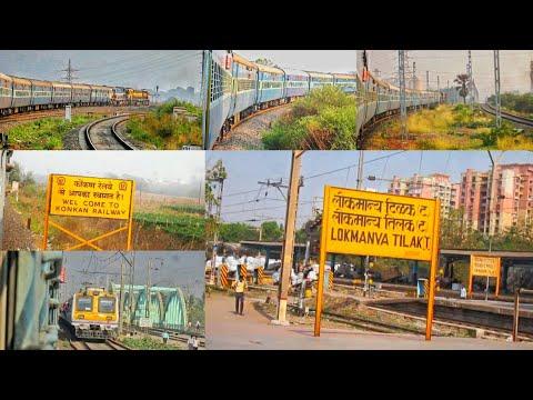 Mumbai To Kudal Full Journey: Onboard 12619 Matsyagandha express: Part 1