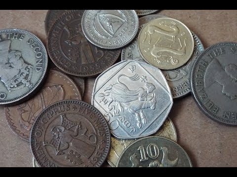 Cyprus Coin Collection (2018)