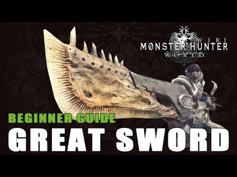 Great Sword | Monster Hunter World Wiki