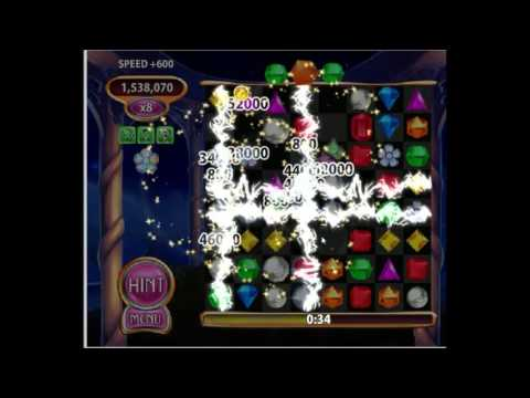 Bejeweled Blitz High Score 5,401,150 (Rainbow Bloom Gem) No Cheats