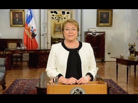 Video message by Michelle Bachelet, President of Chile