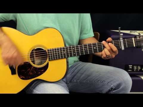 Eli Young Band - Crazy Girl - Acoustic Guitar Lesson - Easy Country Song