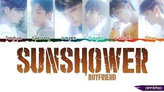 BOYFRIEND (보이프렌드) - 'Sunshower (여우비)' Lyrics (Color Coded Han-Rom-Eng CC) - Stafaband