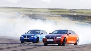 2013 BMW M5 vs. 2013 BMW M6 Coupe at the Track - CAR and DRIVER