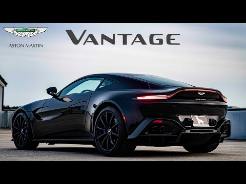 2020 Aston Martin Vantage: Andie the Lab Review!
