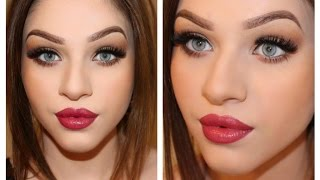 Essence One Brand Makeup Tutorial | Winter Inspired Makeup
