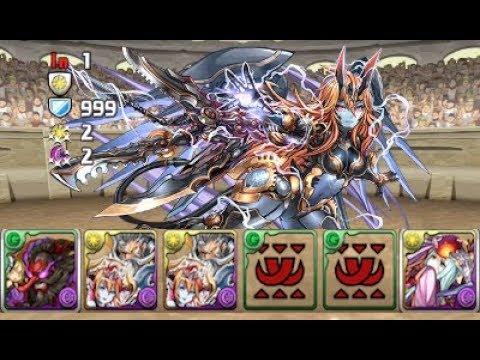 [Puzzle and Dragons] April Quest Dungeon - Lv10 (Tengu/Amaterasu)