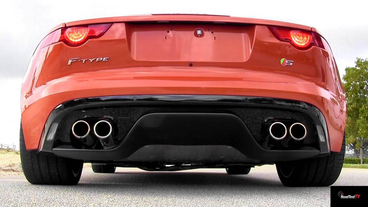2014 jaguar f type s v8 exhaust sound with active sport. Black Bedroom Furniture Sets. Home Design Ideas