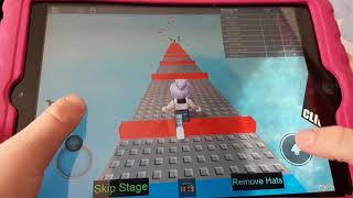 Playing roblox(secret sisters)