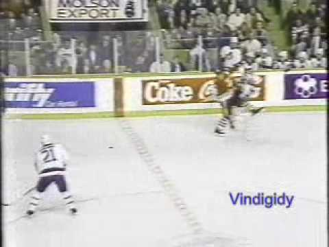 *Blackhawks - Leafs hits 10/20/90