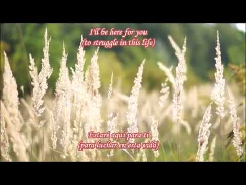 I'll be here  (Lyrics/Letra) ~ Priscila Ahn