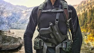 The BEST Value Woods Chest Holster (Hunting, Hiking, Backpacking)