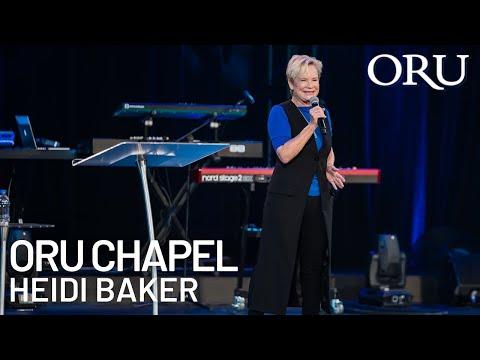 "ORU Chapel 2019: ""Spiritual Intelligence"" by Heidi Baker | Apr. 10th, 2019"