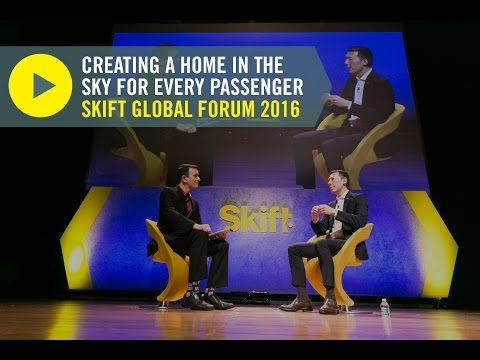 Air Canada President Benjamin Smith at Skift Global Forum 2016