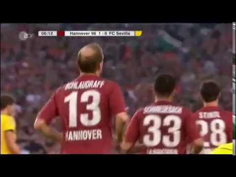 HANNOVER 96 - FC SEVILLA EUROPAPOKAL 2011 - 2:1