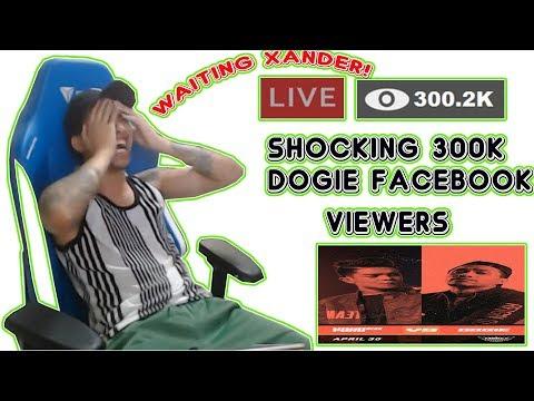 REACTION NI DOGIE SA 300K VIEWERS! XANDER / PNG PINAASA ANG BAYAN!