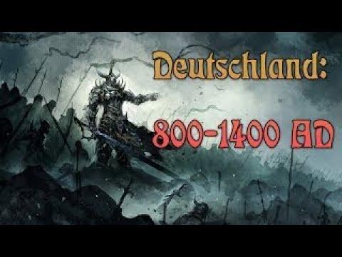 Deutsche Geschichte Deutschland 800 1400 AD