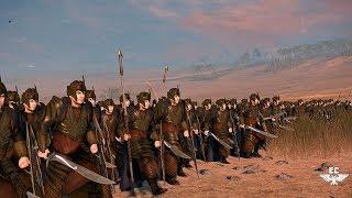 ⚒ Эпическая битва Эльфов против Гномов ⚒! Rise of the Mordor mod [4K Video]