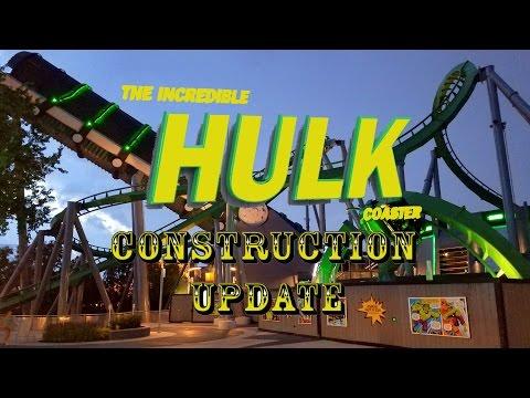 Universal Orlando Resort Construction Update 7.23.16 Mini Update For Hulk, F&F, TCF and Fallon!