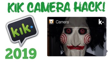 🔥How To Send Fake LIVE CAMERA Picture On Kik!!! 2019
