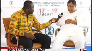 Goosie Tanoh joins forces in NDC leadership race