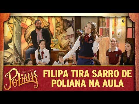 Filipa tira sarro de Poliana na aula de teatro | As Aventuras de Poliana