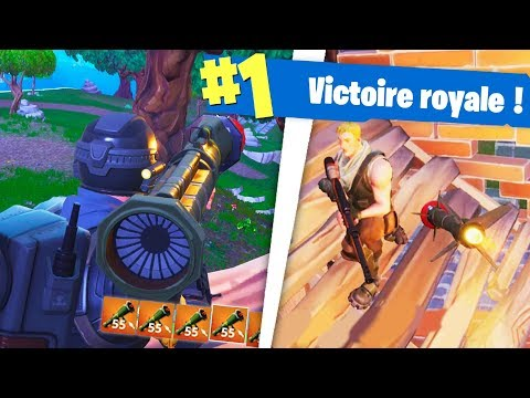 NOUVEAU MISSILE GUIDÉ POUR TOP1 !! Fortnite Battle Royale !