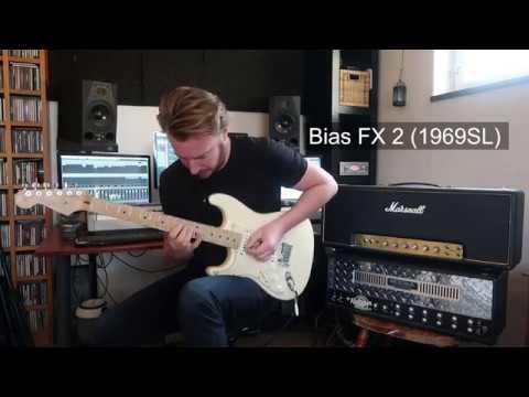 Bias FX 2 VS Real Marshall 50 Watt HEAD! DIGITAL VS ANALOGUE...