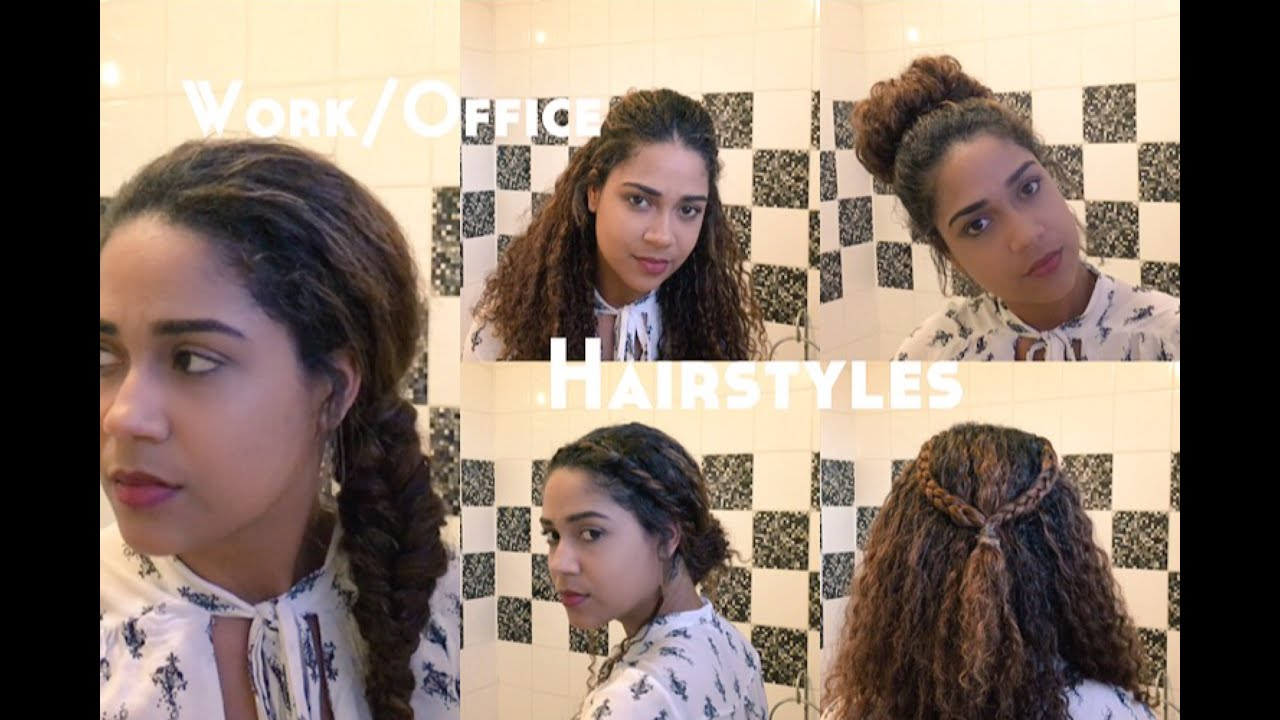 5 Easy fice Hairstyles