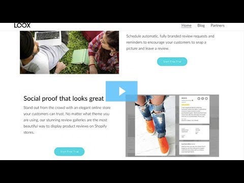 New Integration:  Loox Photo Reviews for Social Proof