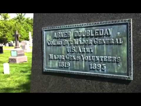 Big Chuck at Arlington Cemetery 2014: Abner Doubleday
