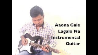 Aao Na Gale Lagao Na Instrumental Mere Jeevan Sathi - Singer Asha Bhosle Song on Guitar By Vivek