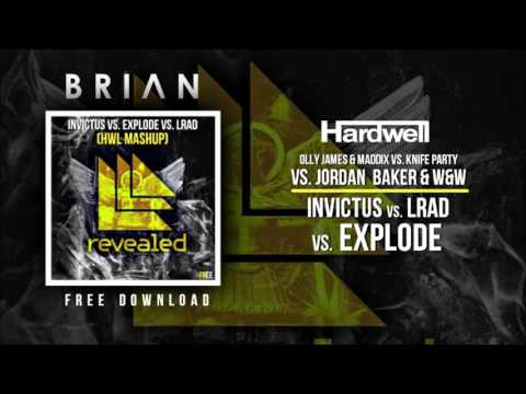 Invictus vs. Explode vs. LRAD (Hardwell Mashup) [KARIOKO Remake]